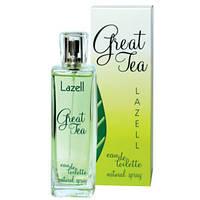 Lazell Great Tea EDT 100ml (туалетная вода) женская /версия E.Arden Green Tea/