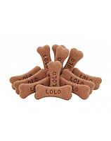 LOLO PETS печенье для собаки М - с шоколадным вкусом 3кг