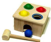 Деревянная игрушка Стучалка Квадрат