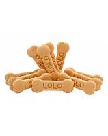 LOLO PETS печенье для собаки М - с банановым вкусом 3кг