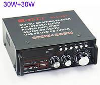 Аудио усилитель мощности звука BLJ 253 A с USB/SD/FM/USB R/C