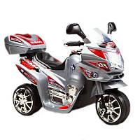 Детский мотоцикл на аккумуляторе Subaki M 0567 серебристый