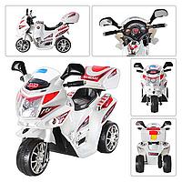 Детский мотоцикл на аккумуляторе Subaki M 0567-1 белый