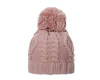 Тёплая женская шапка с помпоном бейлиз