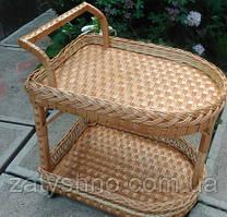 Стол-поднос плетеный