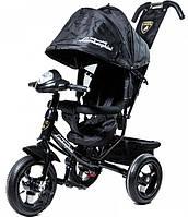 Детский Трехколесный велосипед Lamborghini L2O Air черный