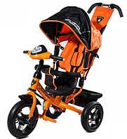 Детский Трехколесный велосипед Lamborghini L2O Air оранжевый
