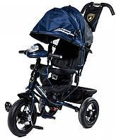 Детский Трехколесный велосипед Lamborghini L2O Air синий