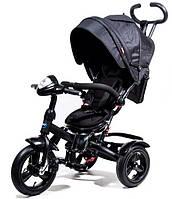 Детский Трехколесный велосипед Neo 4 Black