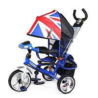 Детский трехколесный велосипед Turbo Trike M 3125 Blue амортизатор