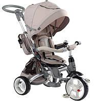 Детский трехколесный велосипед-трансформер 6в1 Sun Baby Little Tiger T500 Beige