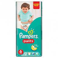 Подгузники-трусики Pampers Pants 6 (16+ кг) JUMBO PACK, 44 шт.