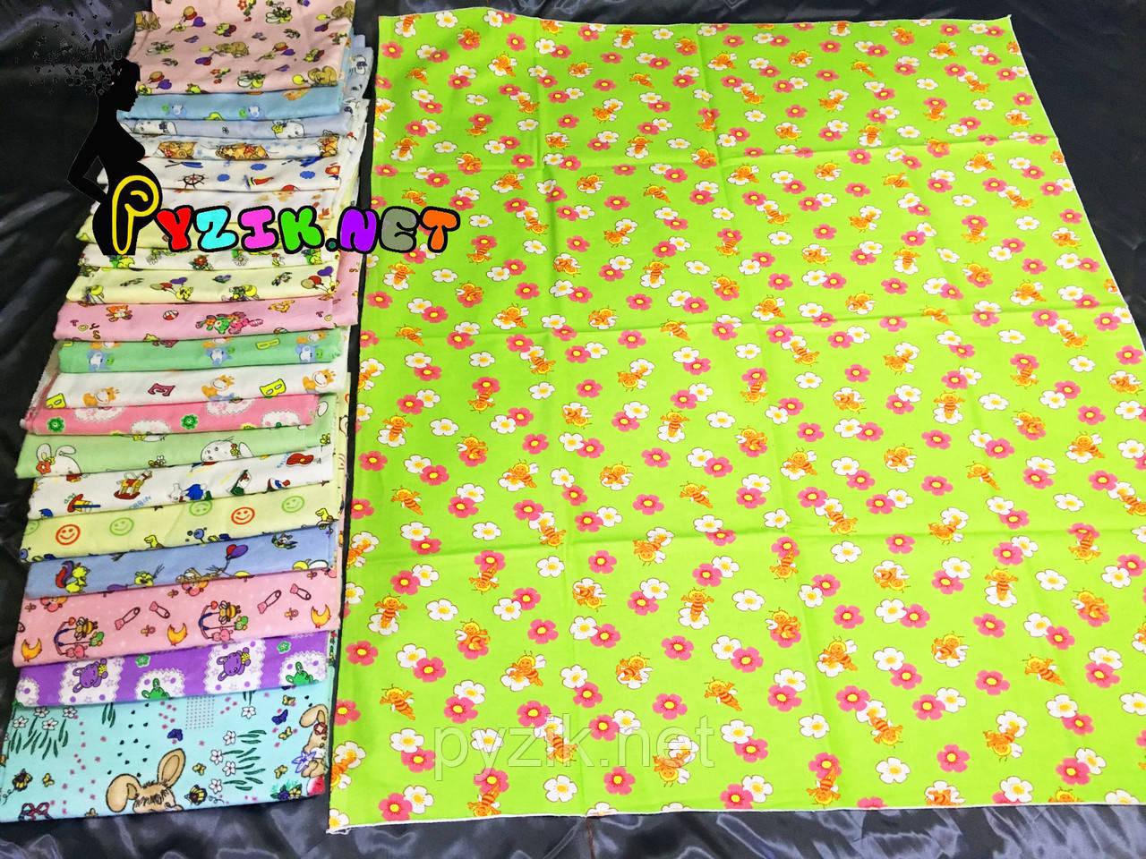 Комплект нежные байковые пеленки (10 шт)