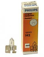 Лампа галогенная Philips H2, 1шт/картон, 12311C1