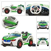 Детский электромобиль BMW Vision HL 718 на р/у резиновые колеса