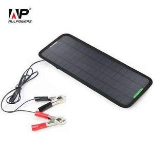Зарядка для авто на солнечных батареях ALLPOWERS 18 В 7.5 Вт