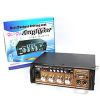 Аудио усилитель АК-698Е, усилитель мощности звука USB/SD/FM