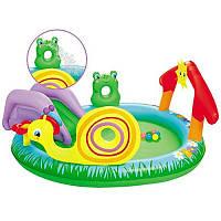 Игровой центр бассейн с горкой 53055