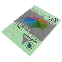 Папір кольоровий 80г/м, А4 100арк. SPECTRA COLOR IT 130 Lagoon (Пастельний світло-зелений)
