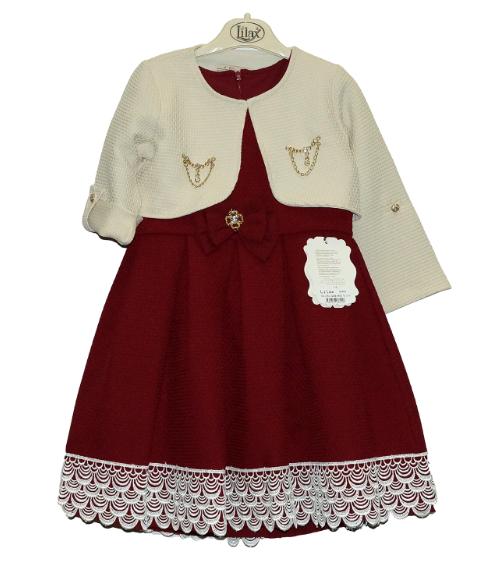 0102ac295d0f Нарядное платье с болеро для девочек, Турция - Интернет-магазин