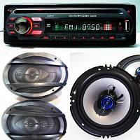 Лучший Набор Авто-звука Sony DVD магнитола + Овалы+ Круглые 16 см НОВЫЙ, фото 1