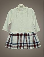 Нарядное шерстяное платье для девочек, Турция