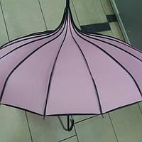Зонт женский Японка розовый
