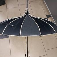 Зонт женский Японка черный