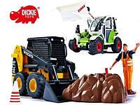 Экскаватор с Погрузчиком игрушка Dickie 3826003
