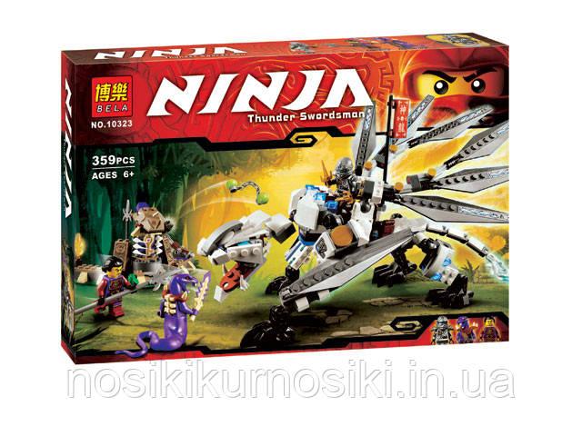 Конструктор Bela NINJA Титановый дракон, 359 деталей