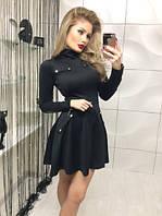 Платье в стиле милитари мод.Фт682