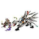 Конструктор Bela NINJA Титановый дракон, 359 деталей, фото 2