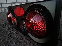 Задние модульные фонари в 3D на ВАЗ 2109 (черные)