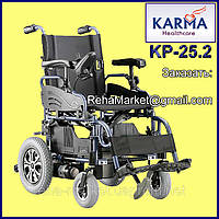 Электроколяска до 30 км. KARMA KP-25.2 Powered Wheelchair