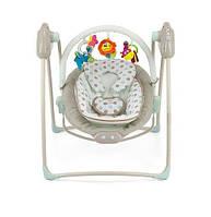 Кресло-качалка 2 в 1 Milly Mally Sweet Dreams, цвет Beige Dot