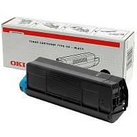 Тонер OKI C6 Black (42127408) оригинальный, для OKI C5100/5300, фото 1