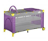 Кровать-манеж Bertoni Zippy 2 Layer Plus Rocker