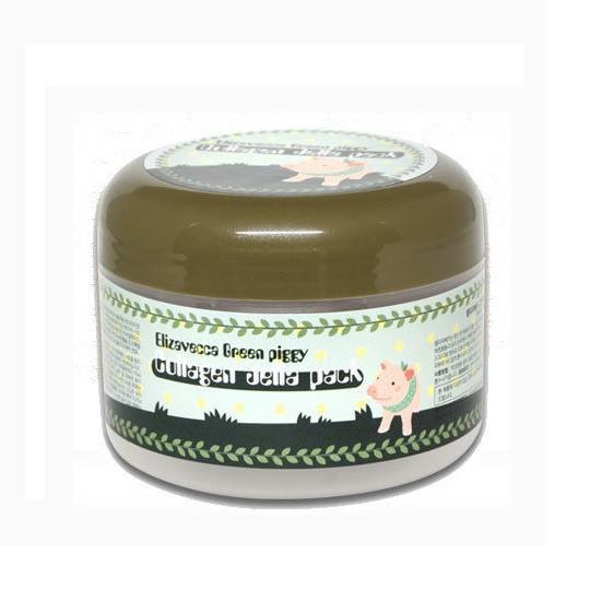 Омолаживающая маска Elizavecca Green Piggy Collagen Jella Pack