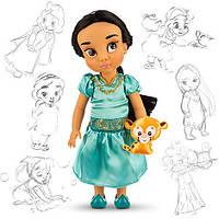 Кукла Жасминс питомцем Disney Animators collection