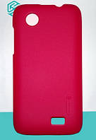 Чехол Nillkin Super Frosted Shield для Lenovo A369 bright red + защитная плёнка