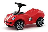 Машинка Каталка с рулем Big Porsche 56343 красная