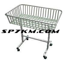Корзина для распродажи напольная. Белого цвета или серебро  1 м на 50 см, фото 2