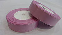 Лента  репсовая  2,5см    цвет 45 розовый