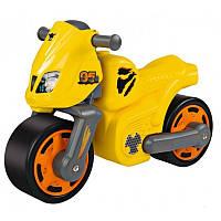 Мотоцикл каталка Супер Скорость BIG 56329 желтый