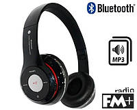 Наушники S460 (bluetooth, mp3) черные