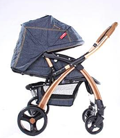 Прогулочная коляска Baciuzzi В 20 gold jeans