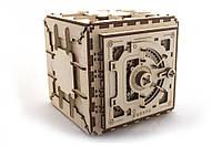 Механический 3D пазл «Сейф» UGears (70011)