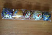 Елочный шар Новогоднее настроение 5 штук Д80