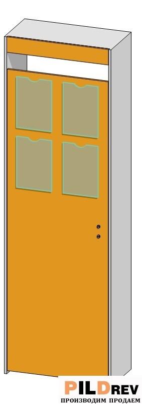 Дверные проемы и калитки (700х350х2184мм)