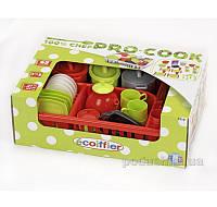 Игровой набор посуды Pro-Cook с сушкой Ecoiffier 001210
